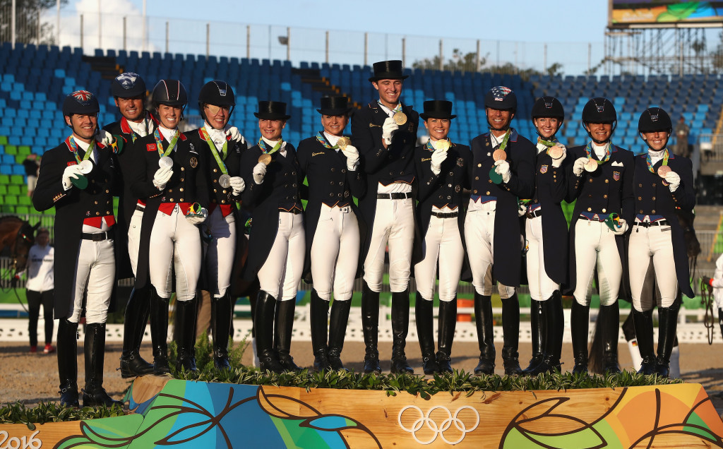 Germany regained thier Olympic dressage title having been beaten by Britain at London 2012 ©Getty Images