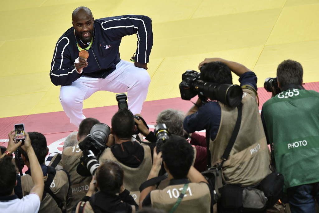 Riner retains Olympic title as France end Rio 2016 judo tournament on high