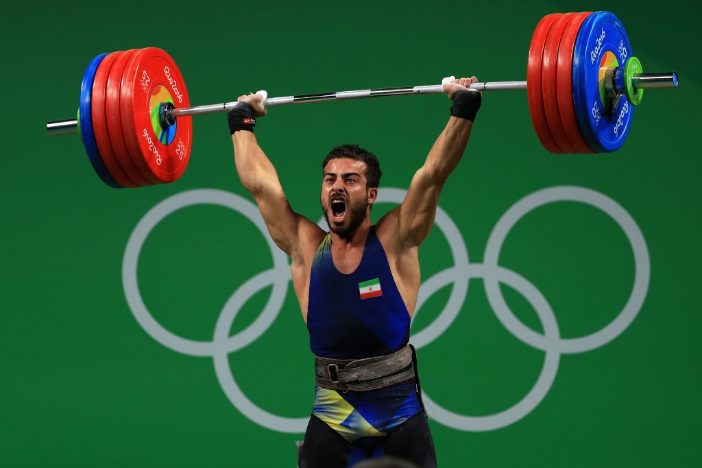 Reigning Olympic champion Kianoush Rostami of Iran is all set to compete at the upcoming IWF World Championships after receiving his visa to travel to the United States ©Getty Images