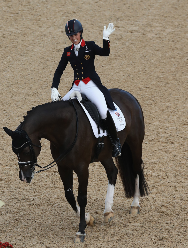 Germans regain team dressage title as brilliant werth for Charlotte dujardin