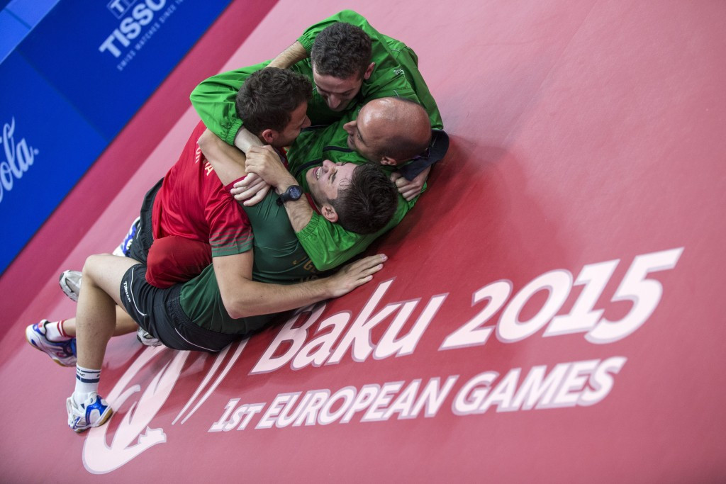 In pictures: Day three of Baku 2015