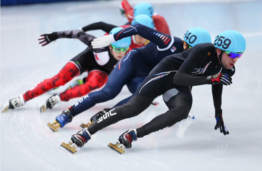 Sochi 2014 silver medallist Chris Creveling is also expected to compete at the Short Track Desert Classic ©Getty Images