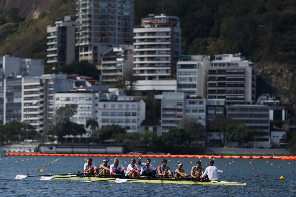 Britain topped the medals table after winning the eights ©Getty Images
