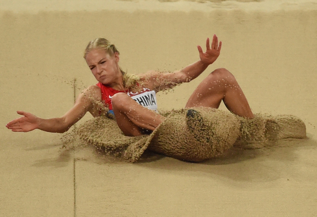 Darya Klishina is appealing the IAAF decision to CAS ©Getty Images