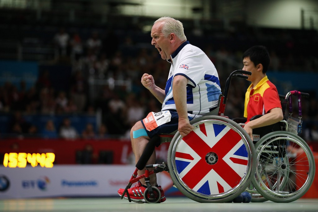 Nigel Murray is set to compete at his fifth Paralympic Games ©Getty Images