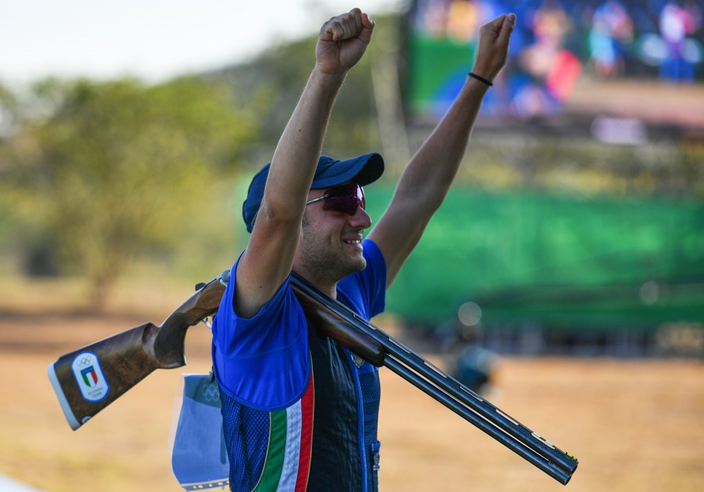 Rossetti seals men's trap gold as Al-Rashidi earns second medal for Independent Olympic Athletes at Rio 2016