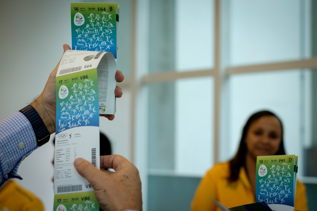 Ticket sales for the Paralympic Games remain low, Rio 2016 have admitted ©Getty Images