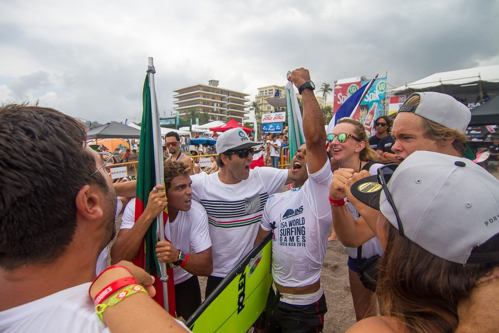 Portugal look to make history on final day of ISA World Surfing Games
