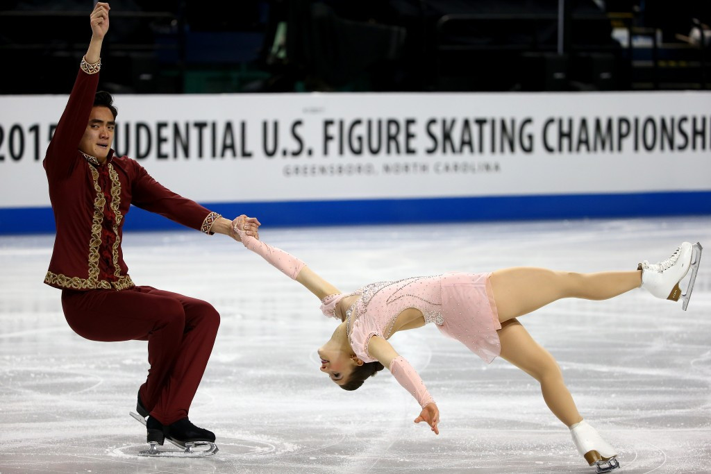 The pair won the US junior title in 2014 and the US novice title in 2011 ©Getty Images
