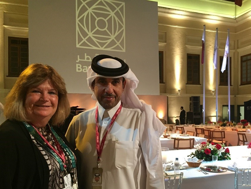 Qatar Olympic Committee welcomes ANOC secretary general to Rio 2016 reception