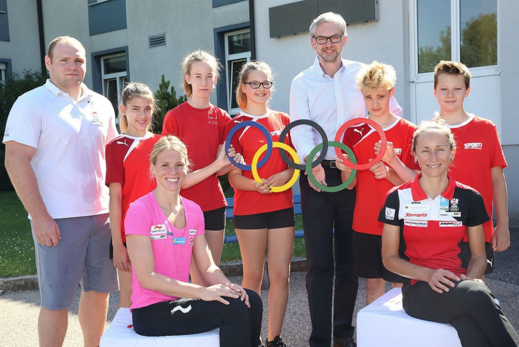 Austrian Olympic Committee hold workshops to help aid refugee crisis