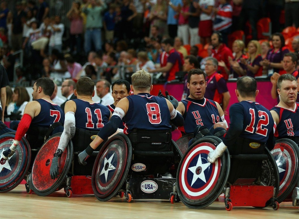 Anthony McDaniel had been called up to the US Wheelchair Rugby squad for the Rio 2016 Paralympic Games ©Getty Images