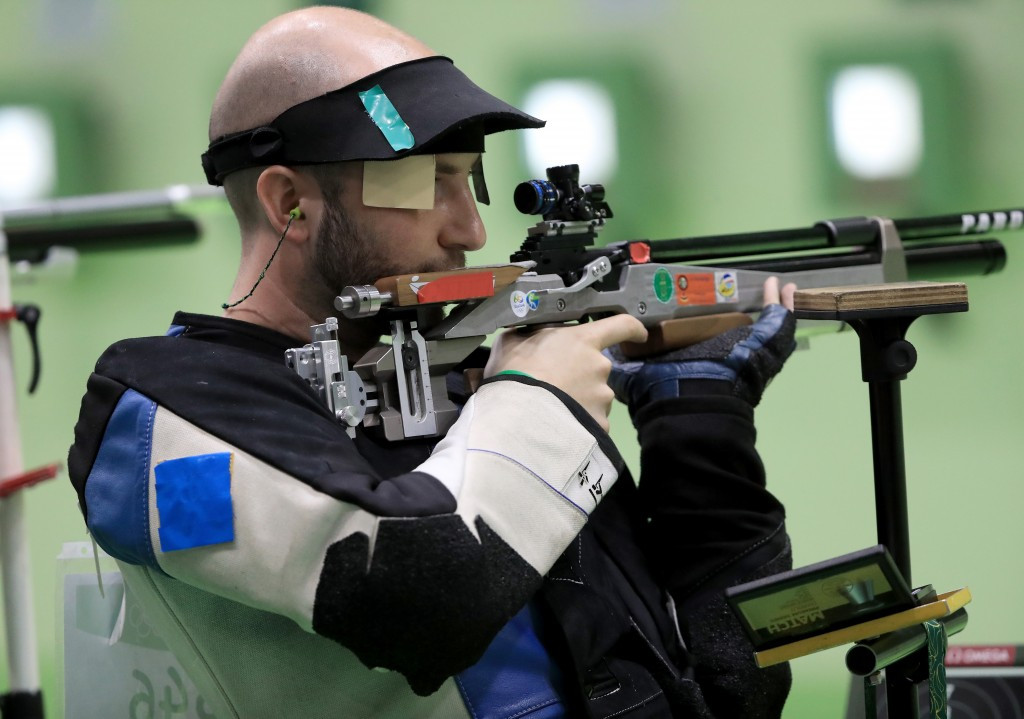 Italy's Niccolo Campriani won his second Olympic gold medal at Rio 2016 with victory in the men's 50m rifle 3 positions final ©Getty Images