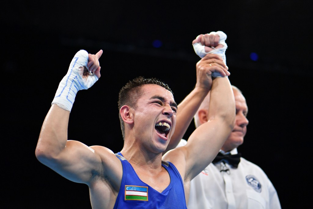 Uzbekistan's Dusmatov wins first boxing gold medal of Rio 2016