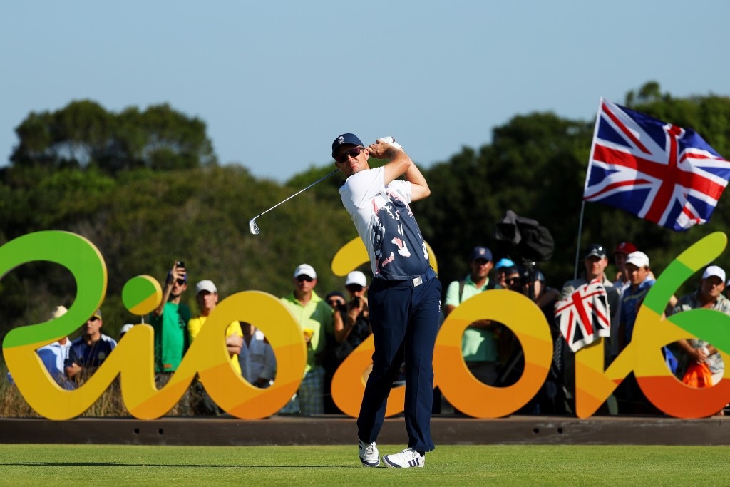 Justin Rose shot a four-under-par 67 to take the gold medal by a shot from Henrik Stenson ©Getty Images