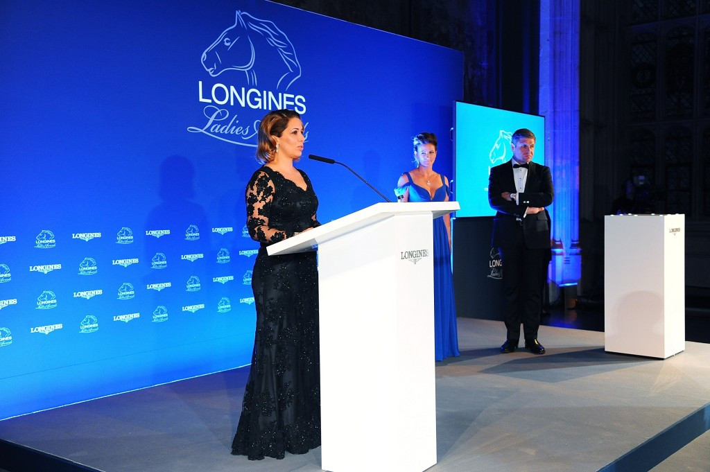 Former FEI President Princess Haya honoured with 2015 Longines Ladies Award