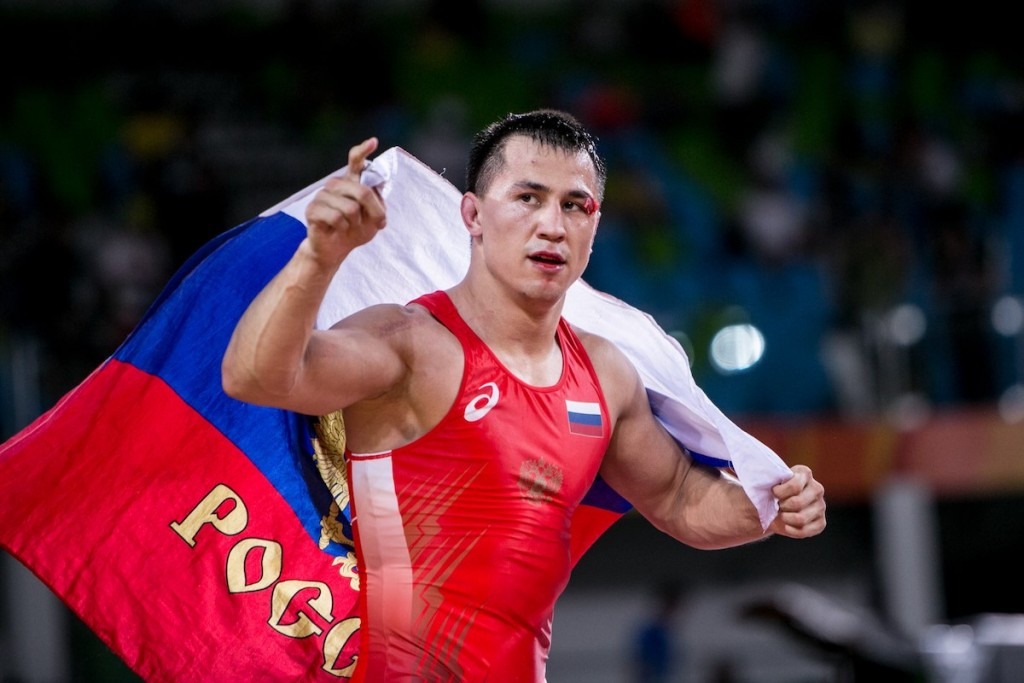 Roman Vlasov got Russia off to a good start in wrestling at Rio 2016 after claiming gold for a second successive Olympics by winning the men's 75kg Greco-Roman event ©UWW