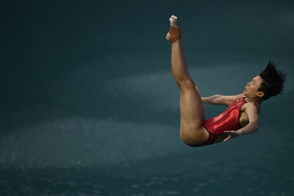 Love is in the air as Shi secures fourth Chinese diving gold at Rio 2016