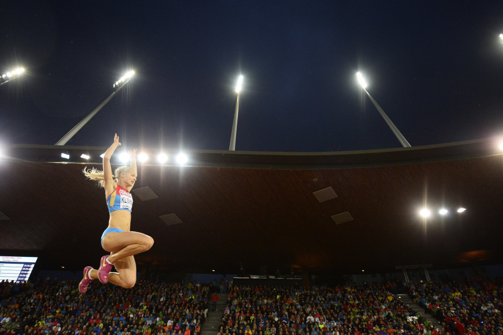 Darya Klishina has repeatedly insisted she is a clean athlete - but suspicions had been raised ©Getty Images