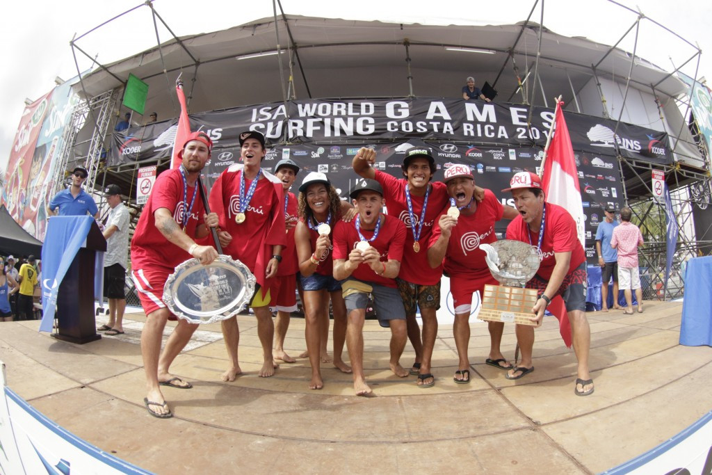 Peru claim gold on final day of ISA World Surfing Games