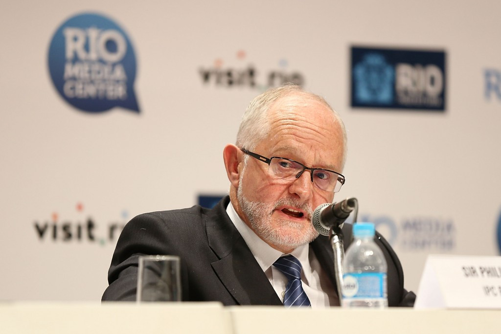 IPC President Sir Philip Craven described the the anti-doping system in Russia as broken when banning the country from Rio 2016 ©Getty Images