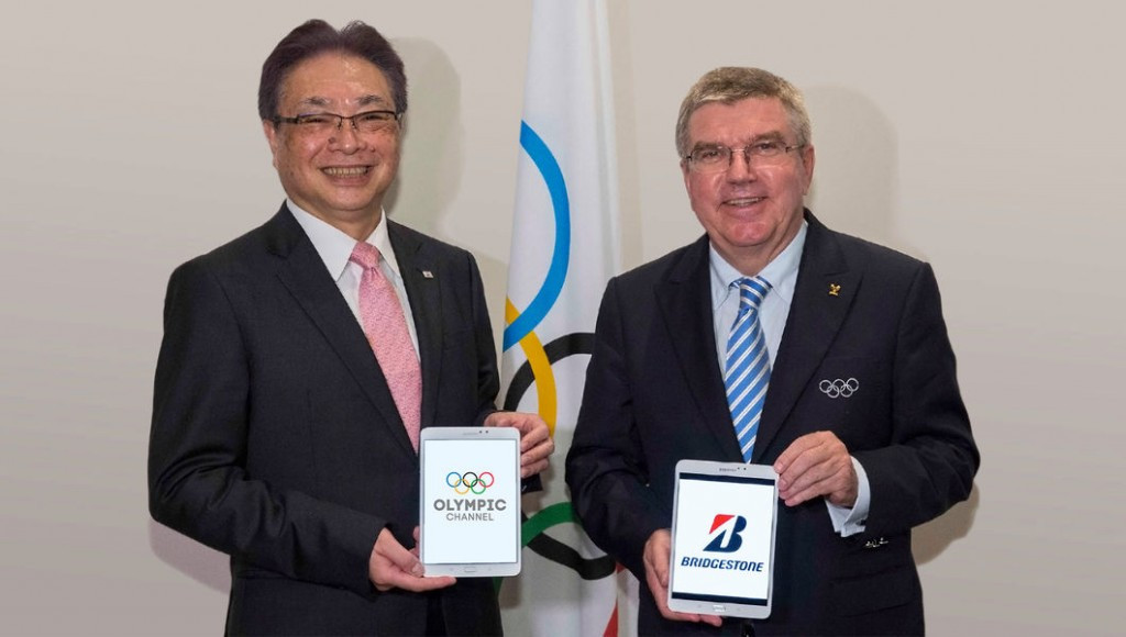 As a founding partner, Bridgestone will play a key role in enabling the development of the Olympic Channel and will work with its production team to produce content for when it launches next Sunday ©IOC
