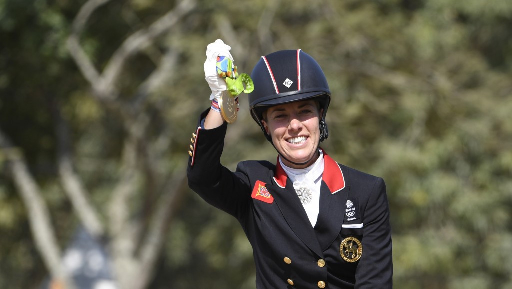 Dujardin retains Olympic title following success in individual dressage on Valegro