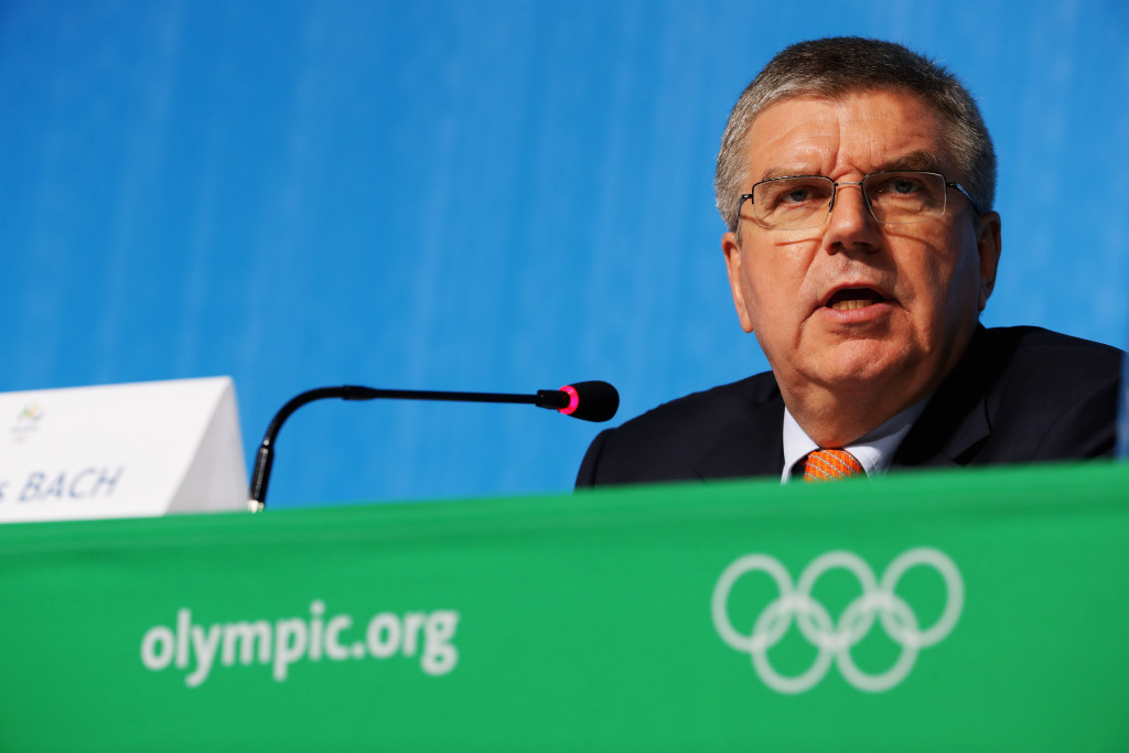 Thomas Bach claimed the International Olympic Committee have done more to help the Stepanovs than any other organisation - something they say is not true ©Getty Images