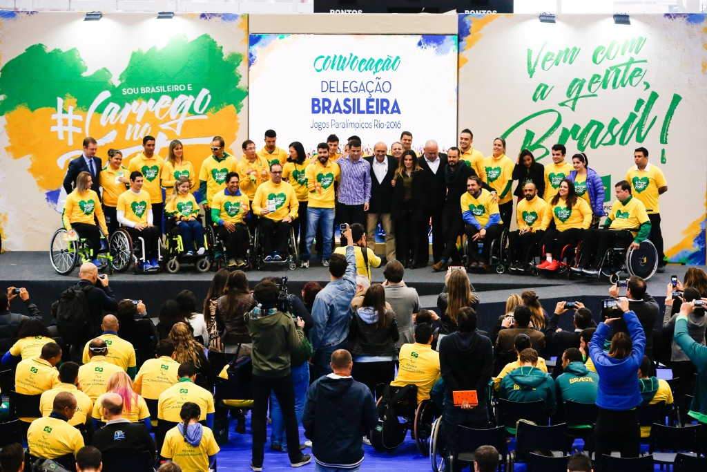 Brazil has selected its team for next month's Paralympic Games at Rio 2016 but there remain doubts over how much resources will be able to dedicate to the event because of financial problems ©Getty Images