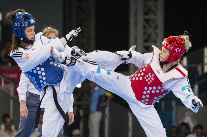 Great Britain's Charlie Maddock took the women's under 49kg crown
