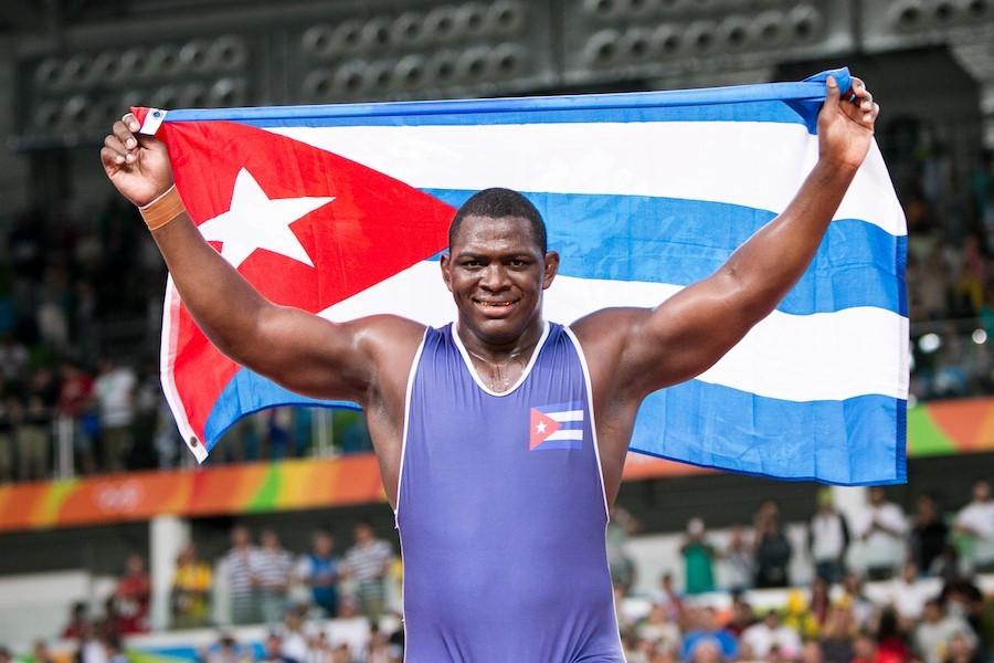Cuba's  López Núñez claims Olympic wrestling gold at third consecutive Games