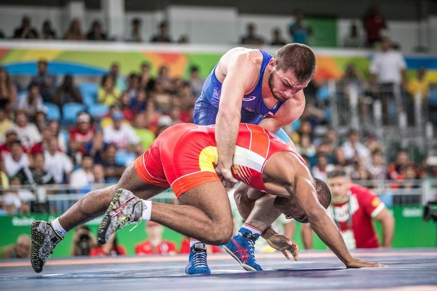 Russia's Davit Chakvetadze triumphed in the men's 85kg Greco-Roman final ©UWW