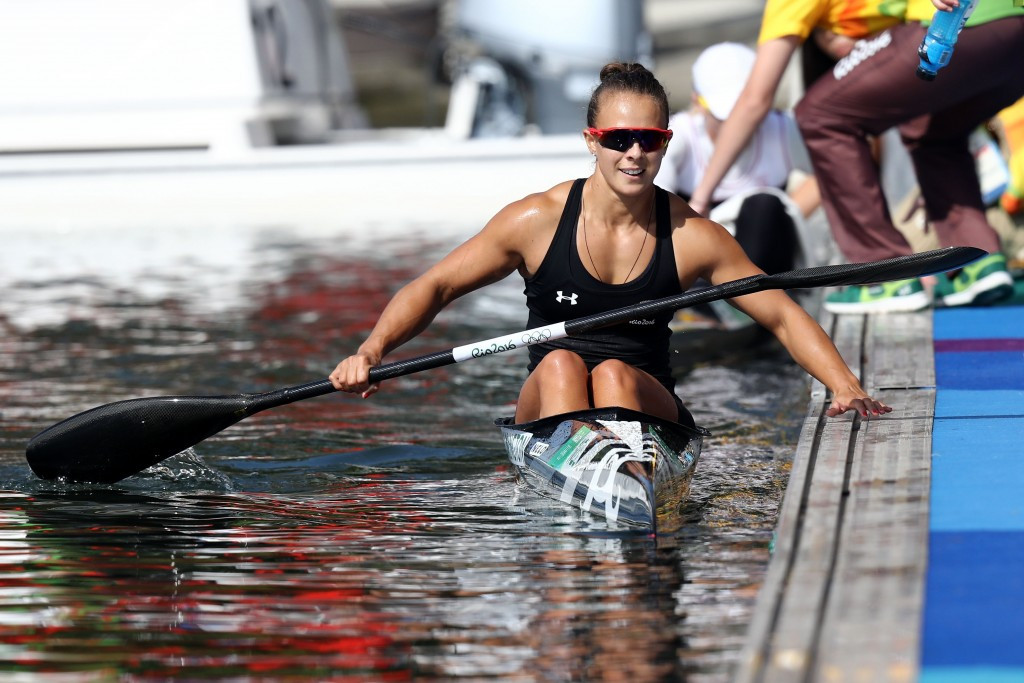 Lisa Carrington retained her K1 200m title  ©Getty Images
