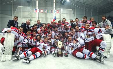 The Czechs won the pre-season tournament, named in their countryman's honour, for the first time ever ©IIHF