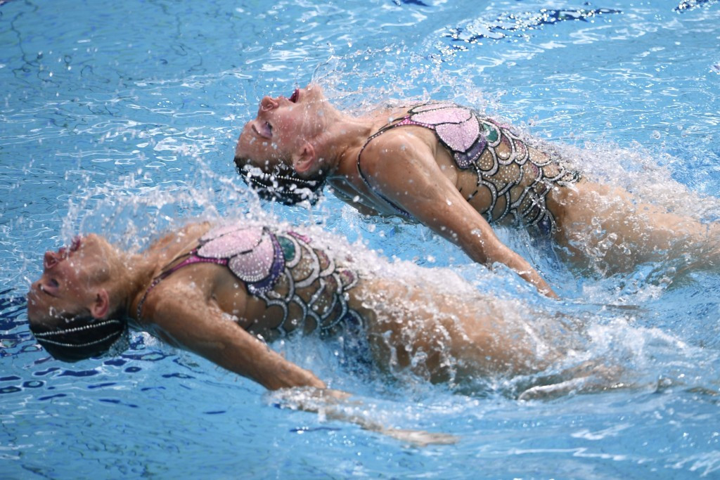 Russia's Ishchenko and Romashina claim nation's fifth consecutive synchronised swimming duets gold medal