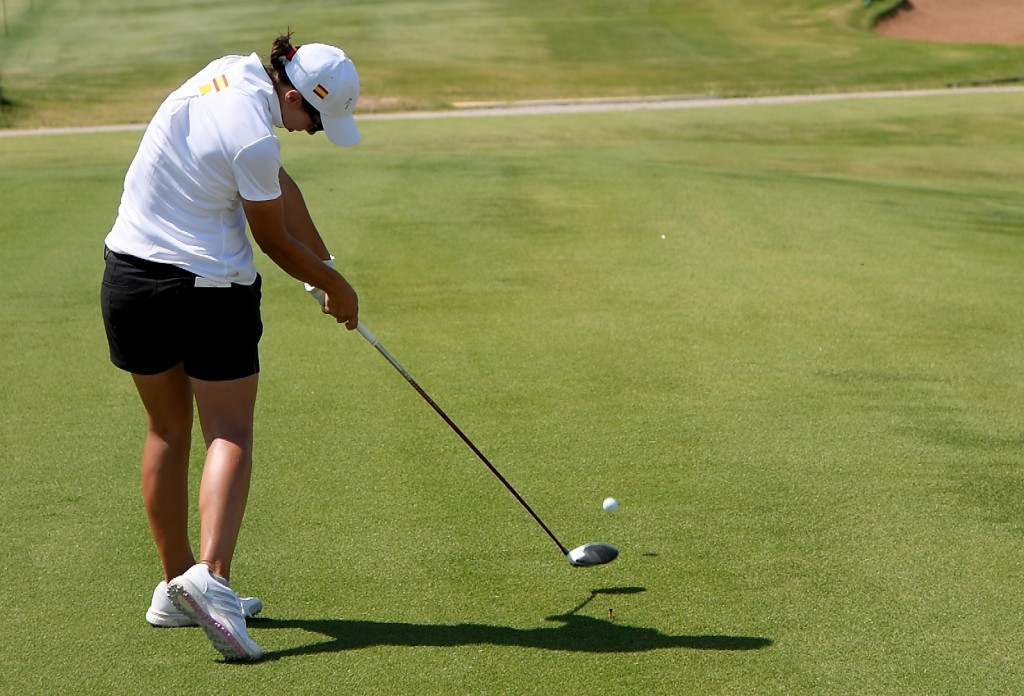 Training is currently taking place ahead of the women's golf competition ©Getty Images