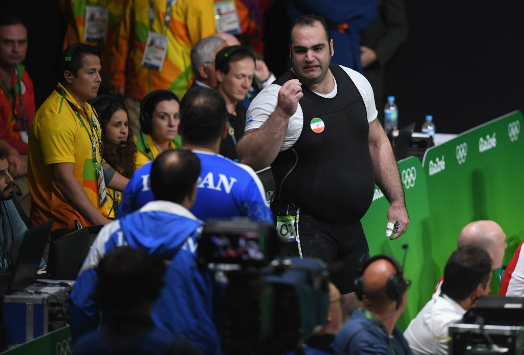 Iranian official furiously and unsuccessfully disputed the decision while the competition was still going on ©Getty Images