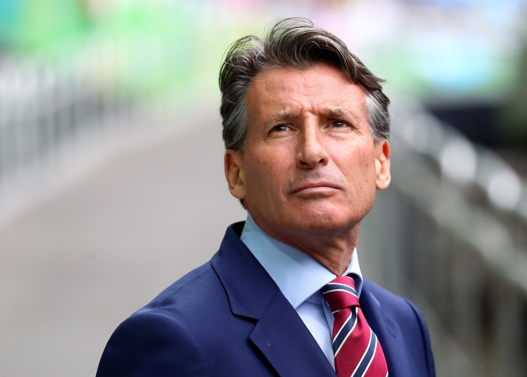 International Association of Athletics Federations President Sebastian Coe welcomed the appointment of Frenchman Olivier Gers as the world governing body's new chief executive ©Getty Images
