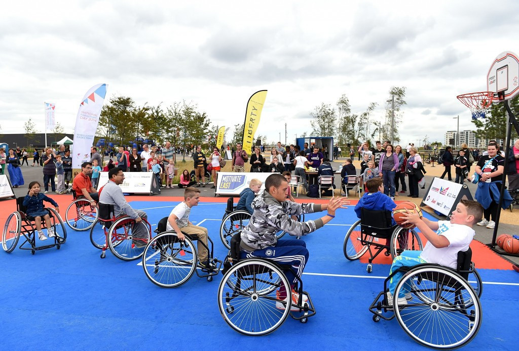 The ParalympicsGB Carnival events will build on the successful formula of the National Paralympic Day events estalished following London 2012 and held in 2013, 2014 and 2015 ©Getty Images