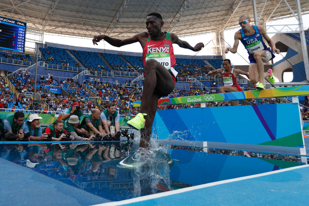 """Kipruto """"lets the track show who is king"""" as Jager hunts silver and Kemboi retires"""