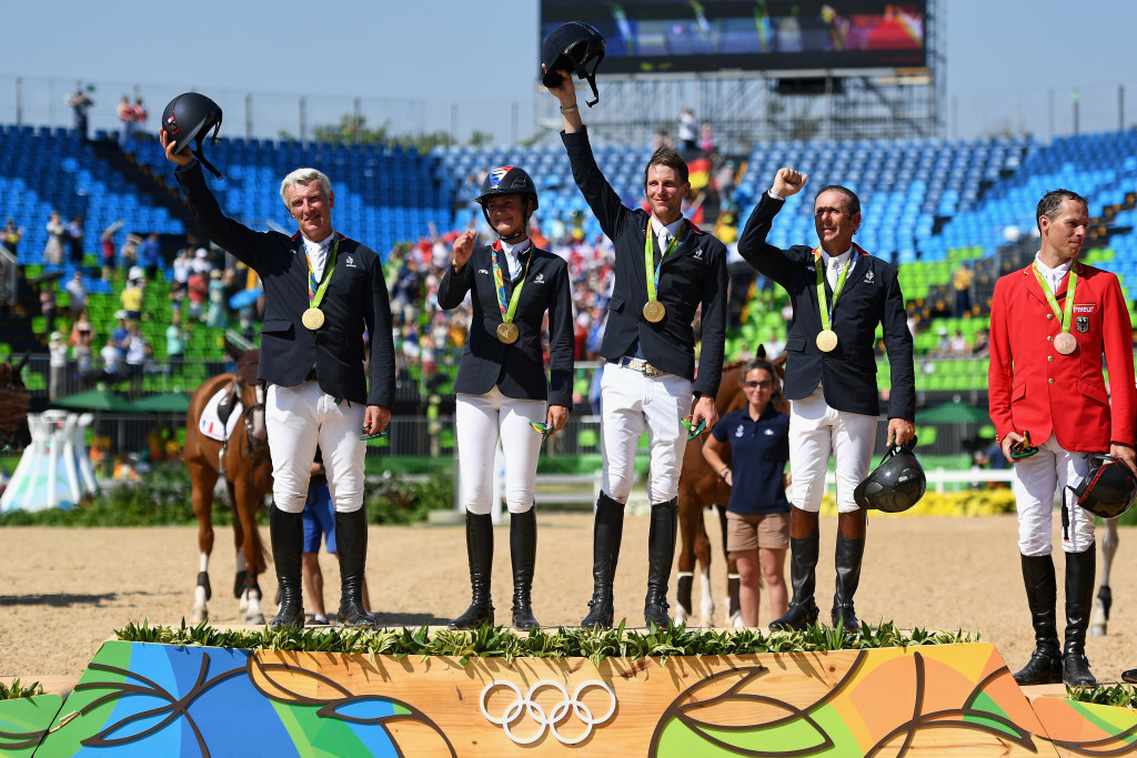 France win show jumping Olympic gold to complete equestrian double
