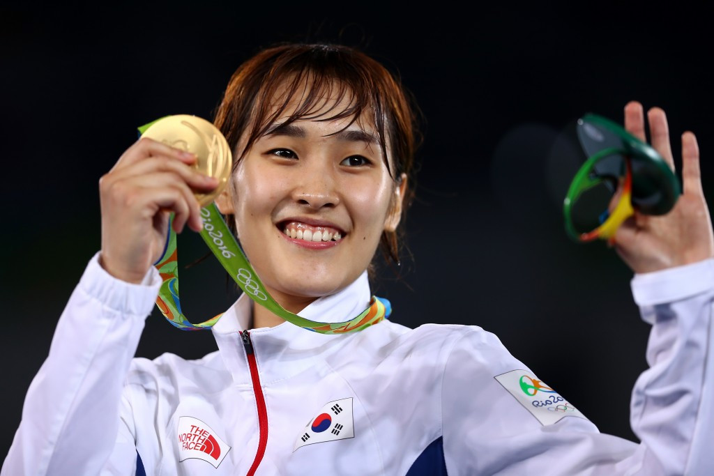 Kim Sohui claimed South Korean gold in the under 49kg event ©Getty Images