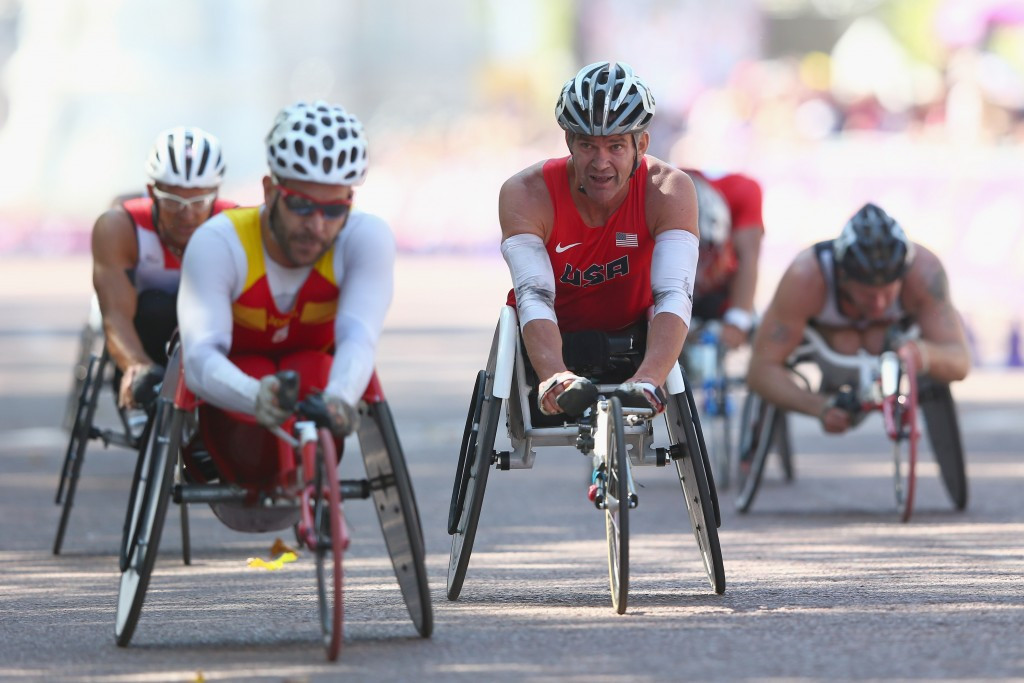 Para-triathlon is set to make its Paralympic debut in the Rio 2016 programme next month ©Getty Images