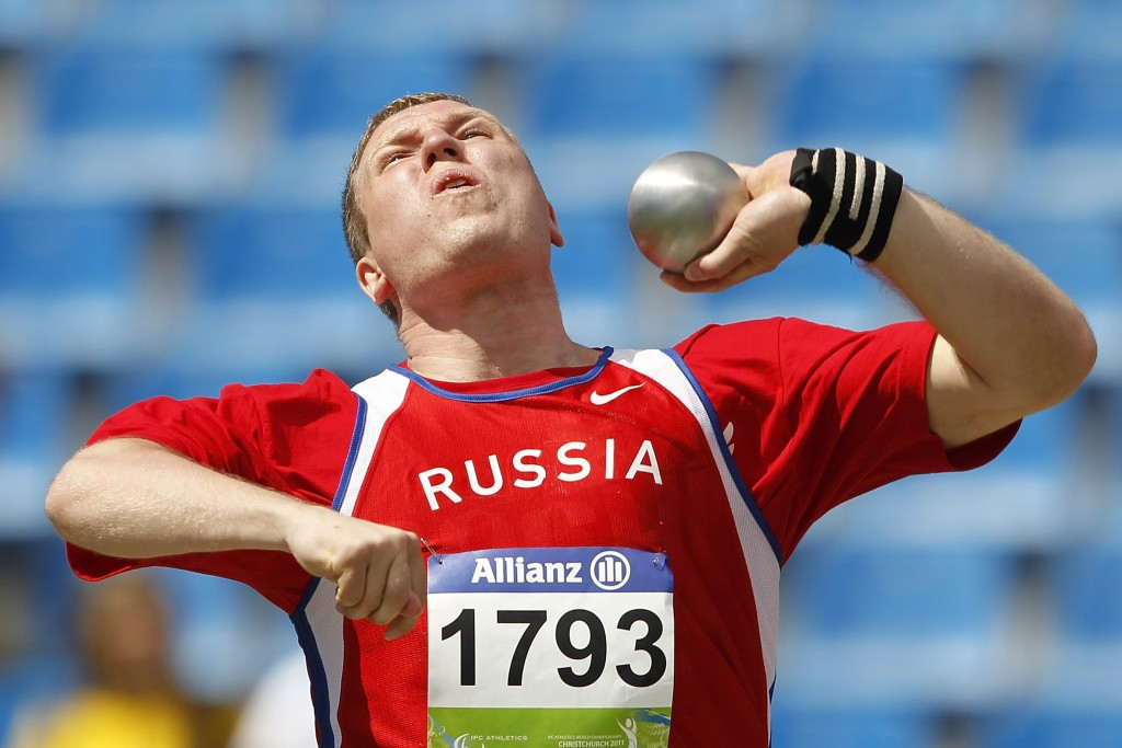 IPC bans Russian shot put thrower for four years after failed drugs test