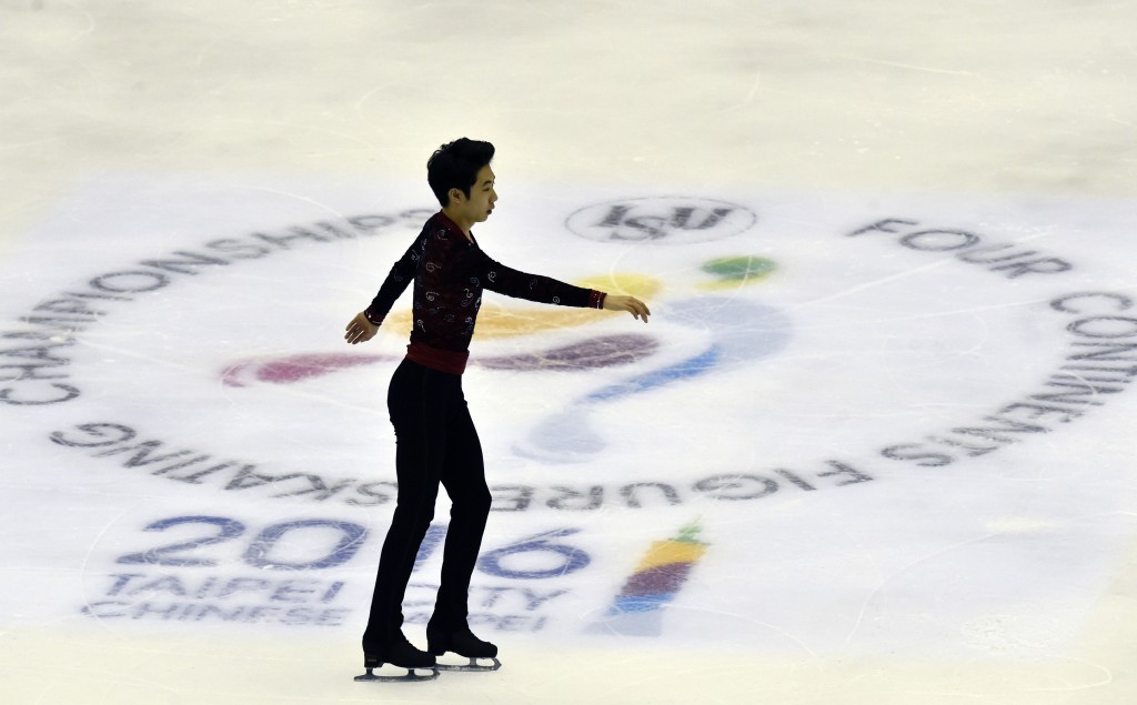 The Four Continents Championships, held this year in Taipei, are open to non-European skaters ©Getty Images