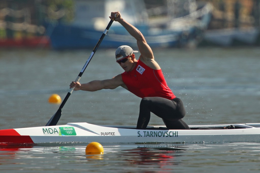 Moldova's canoe sprint bronze medallist Serghei Tarnovschi has been suspended after failing a drug test ©Getty Images