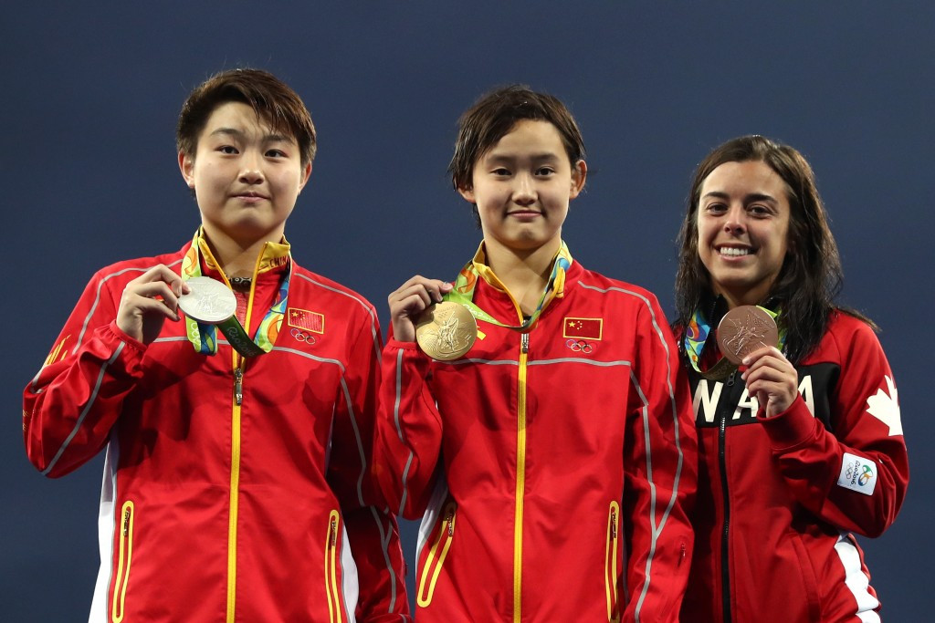 China won all four of the women's diving gold medals at the Olympics ©Getty Images