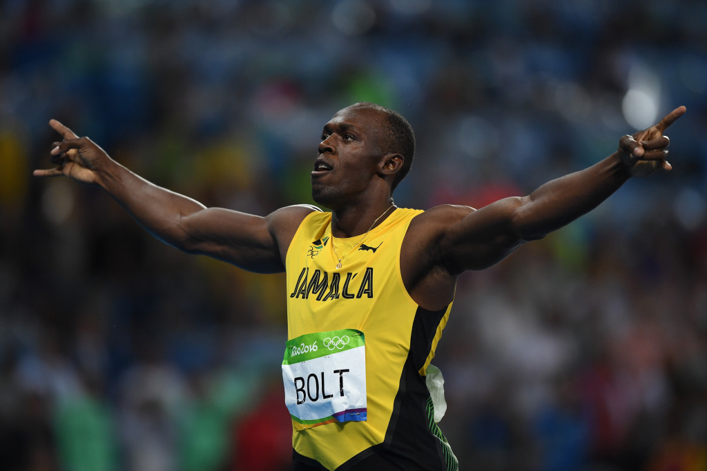 Bolt hopes has earned right to be mentioned alongside Muhammad Ali and Pelé after completing third Olympic 100m/200m double