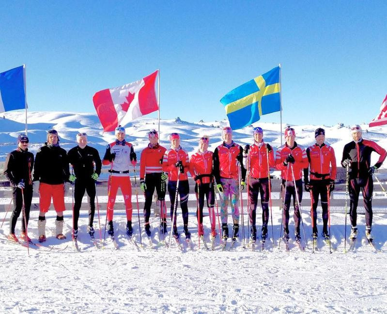 Canadian biathlon team hold winter training camp in New Zealand ahead of new season