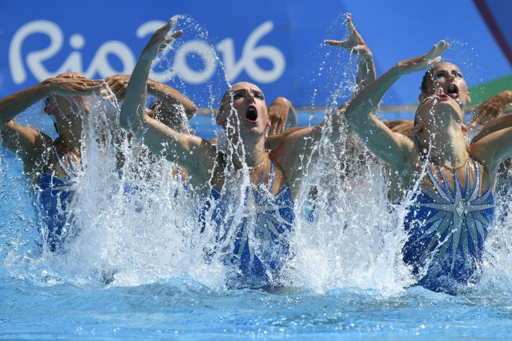 Russia seal fifth consecutive Olympic team synchronised swimming gold medal with dominant display at Rio 2016